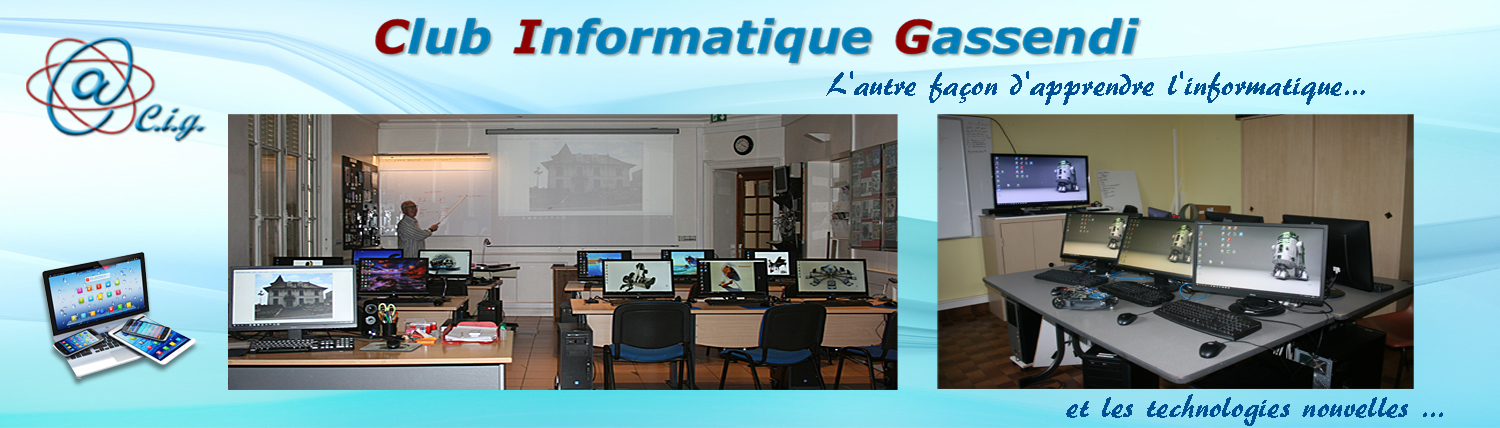 Club Informatique Gassendi